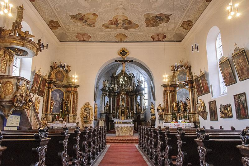 Kirche Dormitz innen