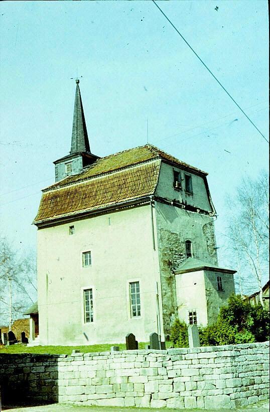 Kirche Rippersroda früher