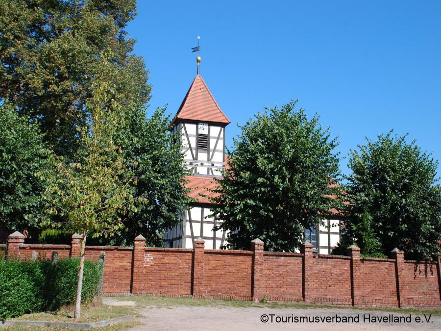 Dorfkirche Semlin, Foto: Tourismusverband Havelland e. V.