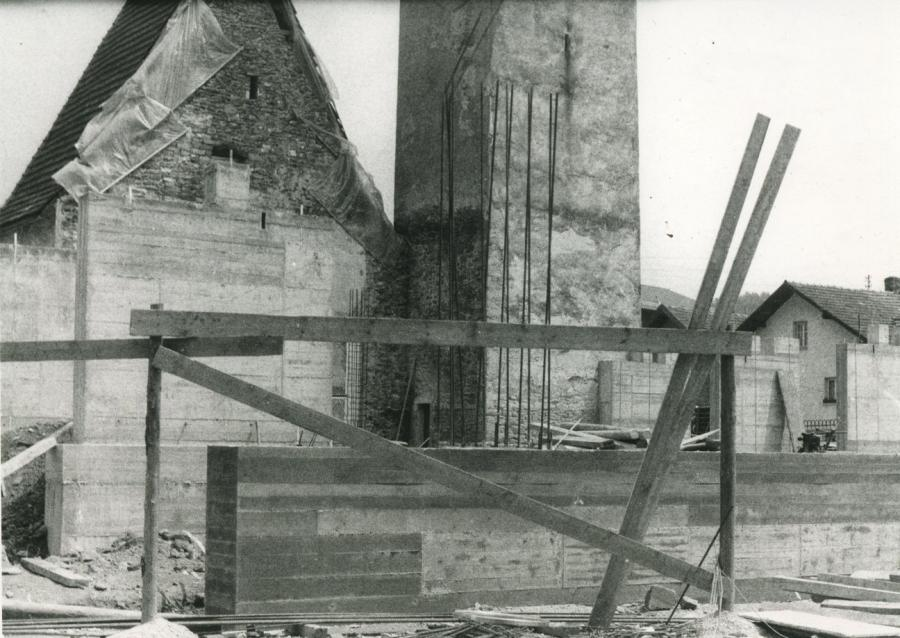 Kirchenbau Miltach 1