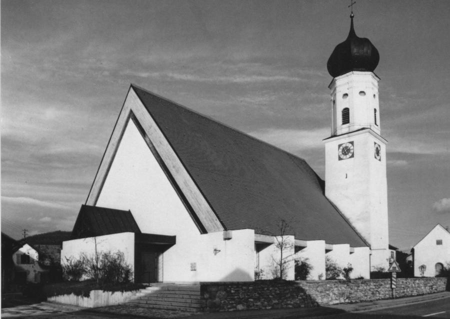Kirche Miltach Neu
