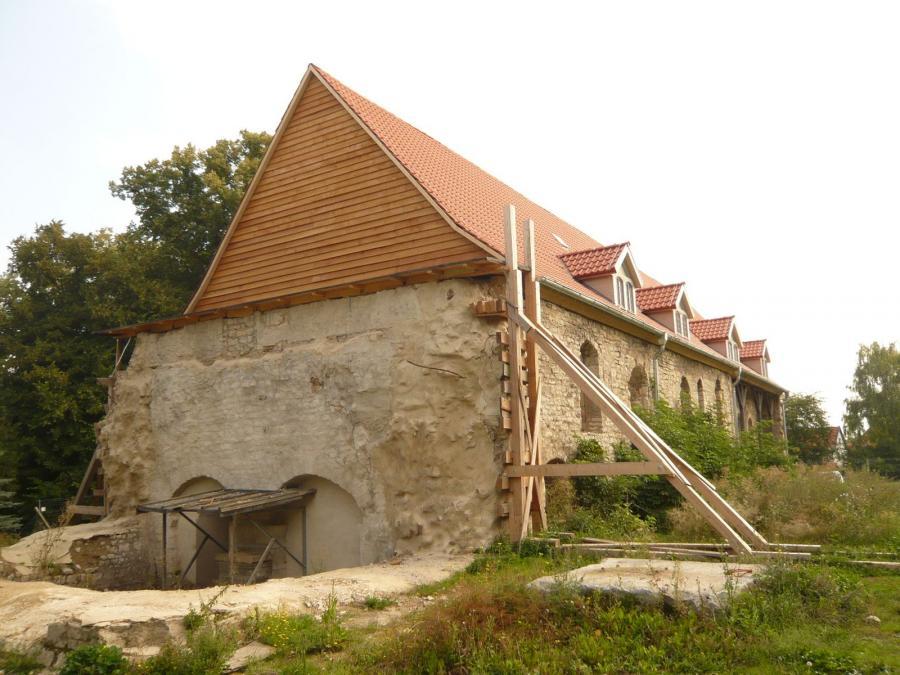 Kirchenschiff saniert