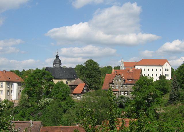 Stadtkirche, Schloss u.s.w.