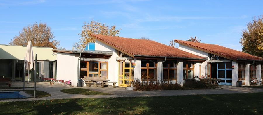 Ev. Kita Lagune, Beimerstetten, Ansicht Südseite