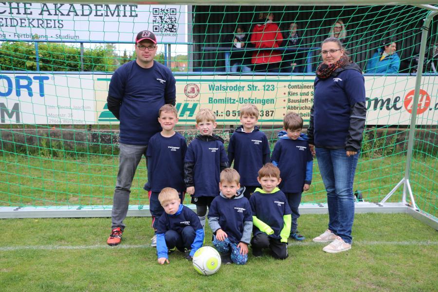 Kindergarten-Cup 2019 - Die Wilden Kicker - Kita Benefeld