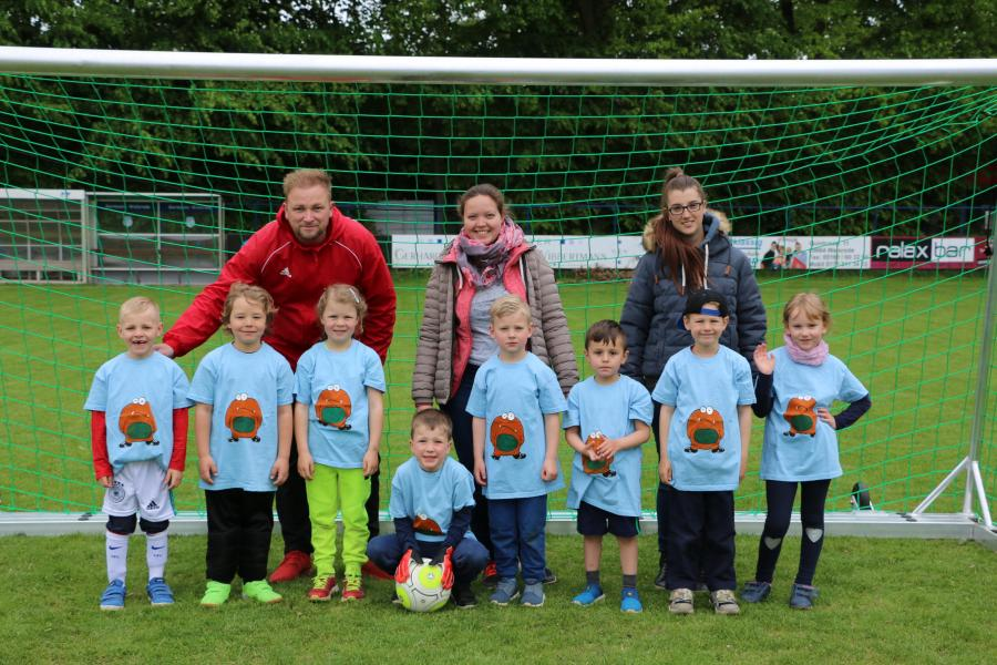 Kindergarten-Cup 2019 - Die Monsterkicker - Kita Bomlitz