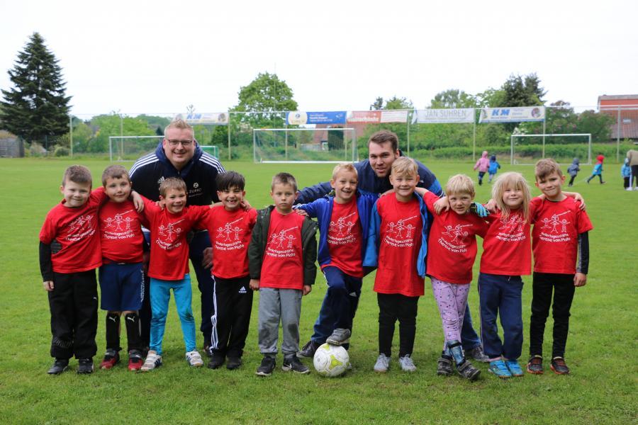 Kindergarten-Cup 2019 - Die Mini Plato Kicker - Kita Therese-von-Plato