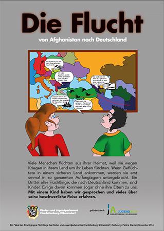 AG-Flüchlinge Plakat klein