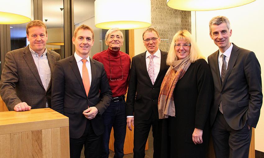 Vorstand, MGV 07.03.2016, Foto: Hans Raab
