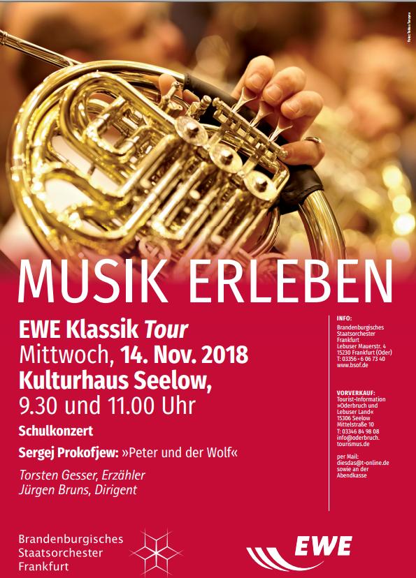 Klassik-Tour im Kreiskulturhaus Seelow