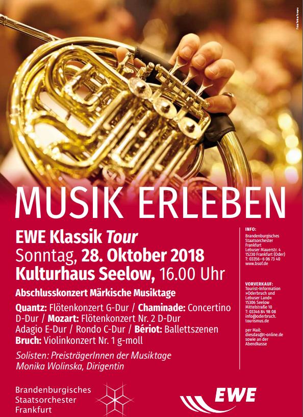 Musiktage im Kreiskulturhaus Seelow