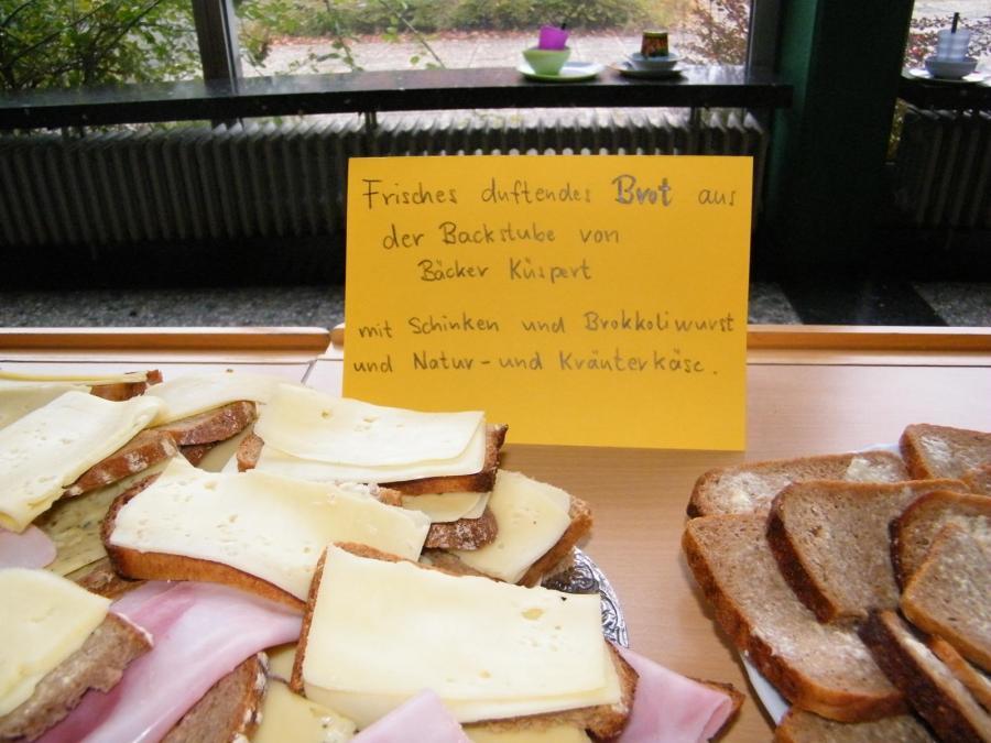 Klasse 2 belegte Brote