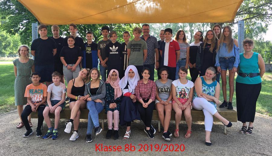 Klasse 8b 2019/2020