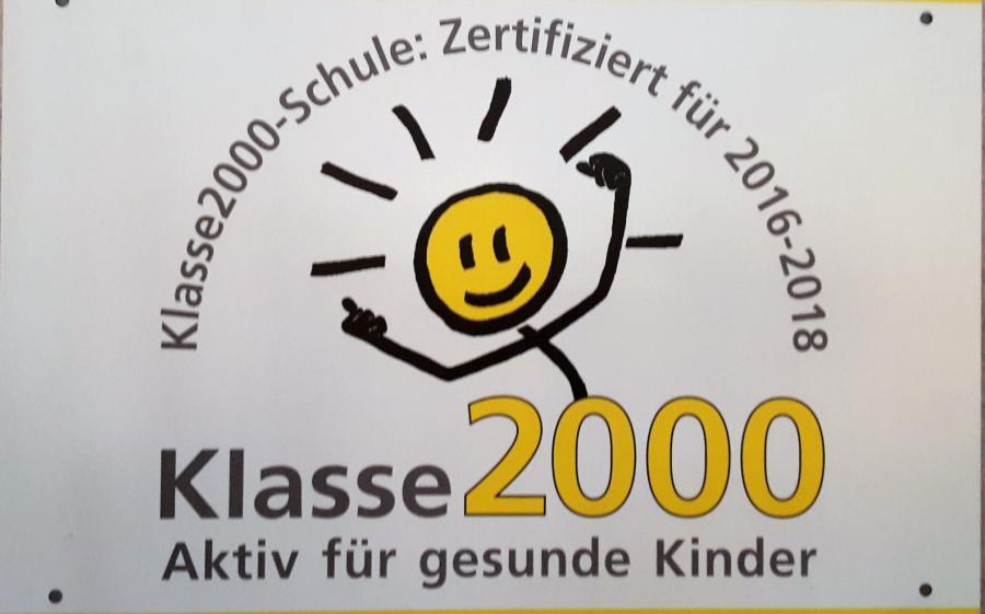 Zertifikat Klasse 2000