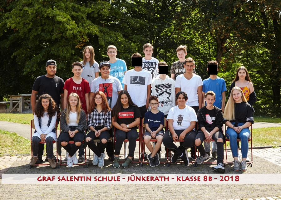 Klasse 8b 20182019