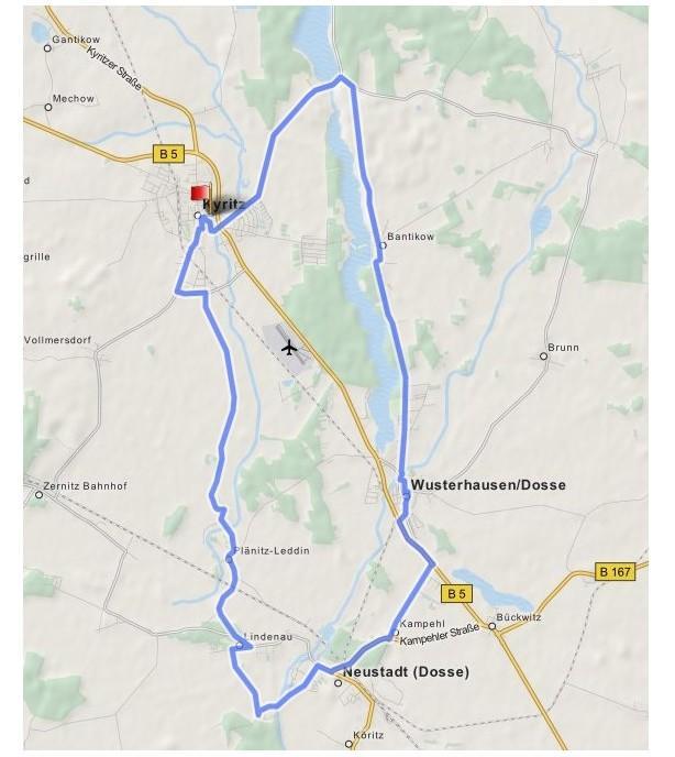 Kleeblatt-Städte-Tour