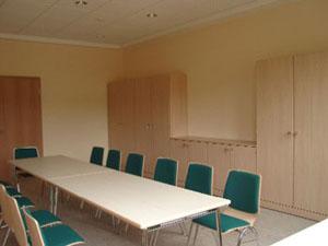 kleiner Raum für ca. 25 Personen