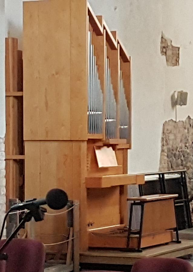 Unsere neue (gebrauchte) Orgel aus Lüchtringen