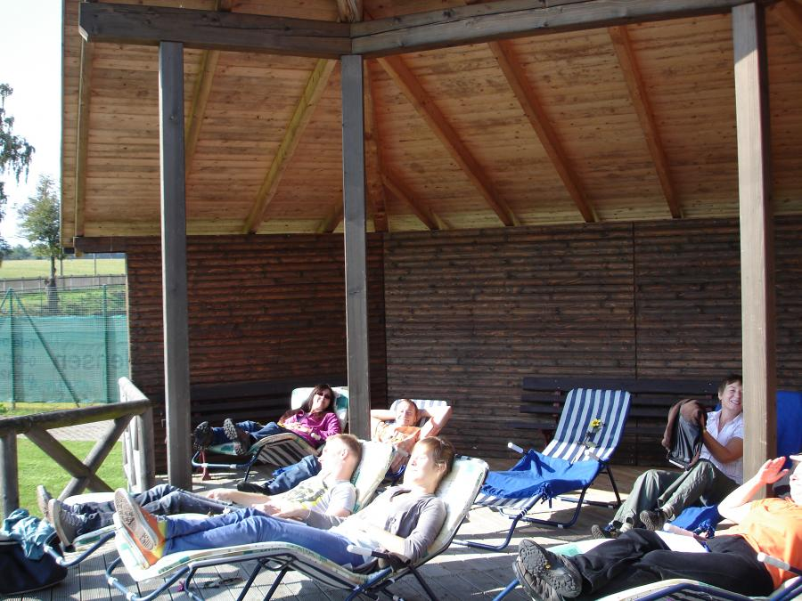 Heliotherapie im Klimapvillon