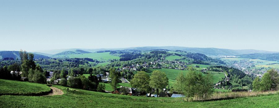 Panoramabild Klingenthal