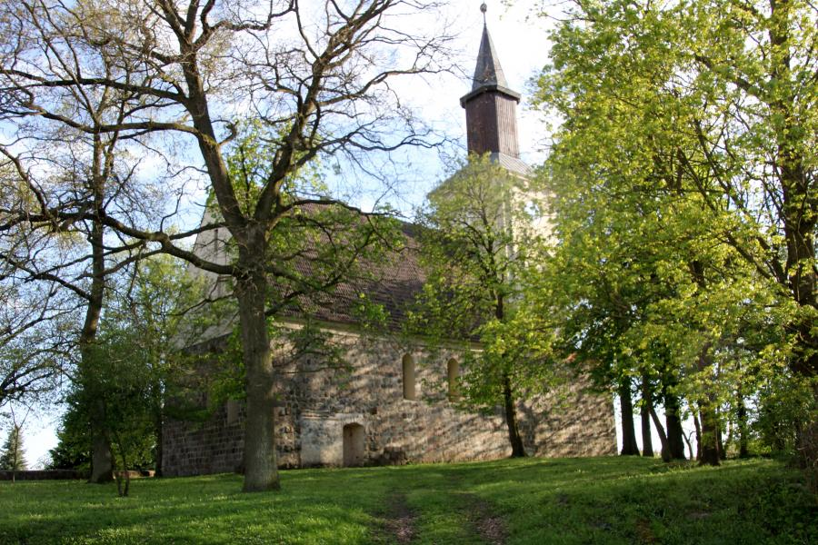 Kirche in Klockow