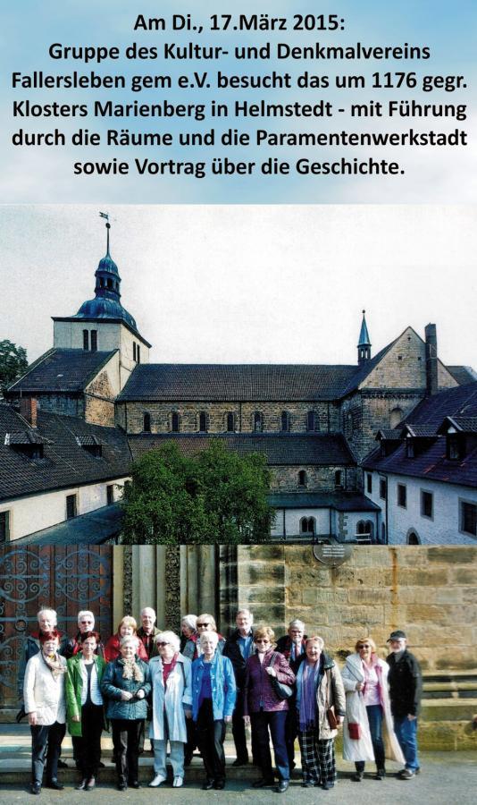 Ausflug zum Kloster Marienberg in Helmstedt 2015