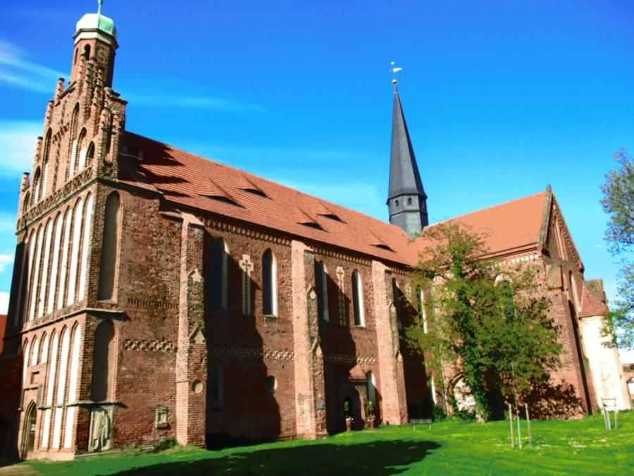 Nonnenkloster Mühlberg, Foto: Klaus Ahrendt