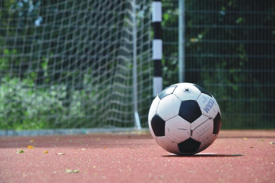 Klosterfelde Bolzplatz Hans-Beimler-Straße Fußball, Foto: Urrutia