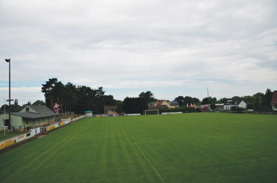 Klosterfelde Sportplatz, Foto: Urrutia