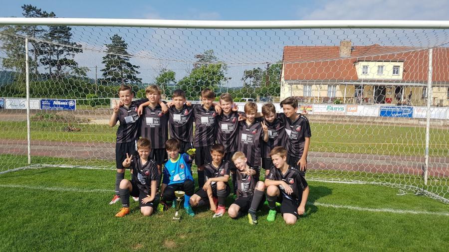 Staffelsieger und Kreismeister D-Junioren: SC Naumburg 1