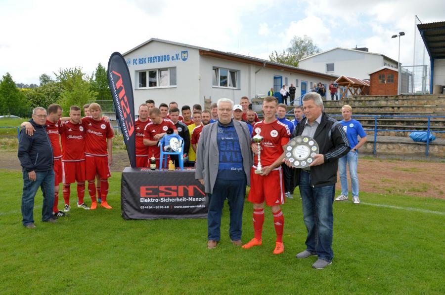 Kreismeister 2016/17 FC RSK Freyburg