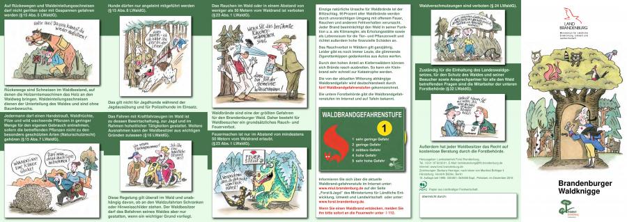 Brandenburger Waldknigge Seite 2