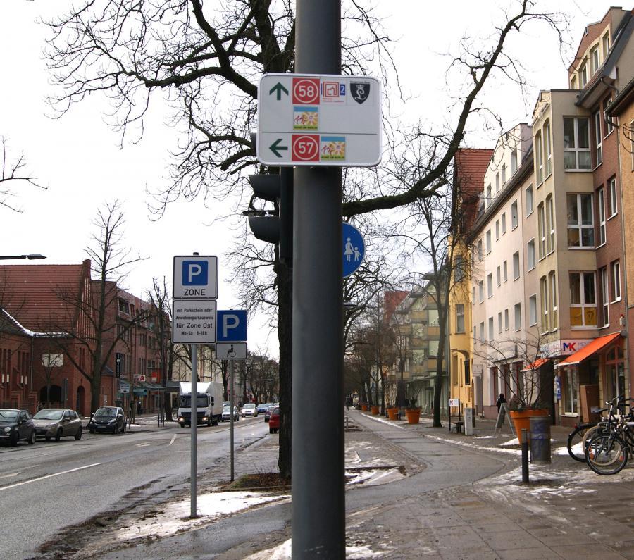 Knotenpunkt – Radwege