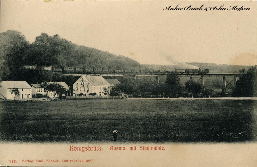 Königsbrück Auental mit Stadtmühle