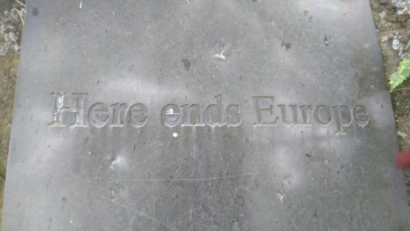 here ends europe