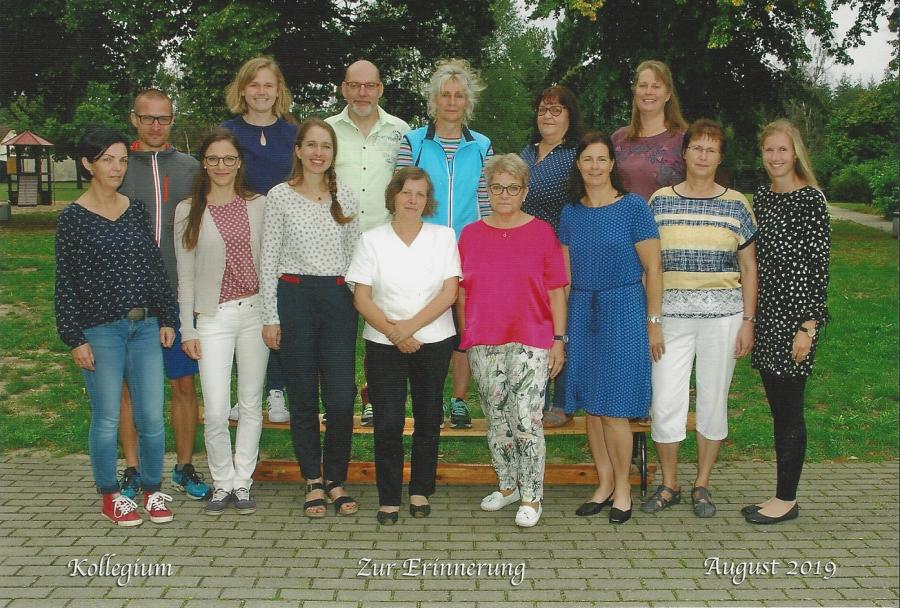 Lehrerteam 2019