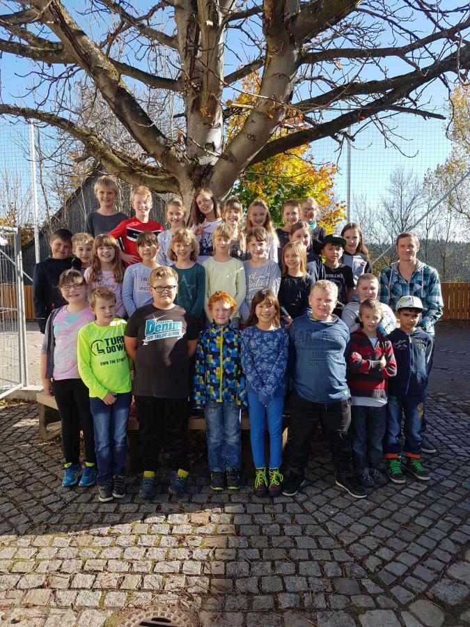 Klasse 3/4 mit Herrn Wich-Herrlein