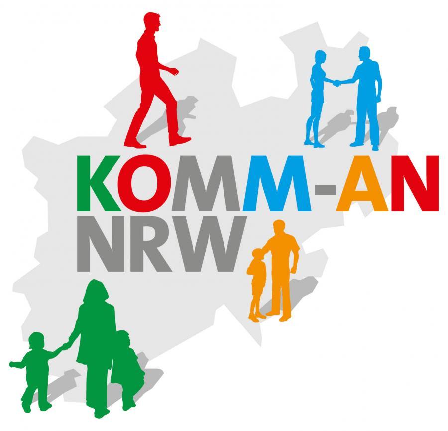 Logo KOMM-AN NRW
