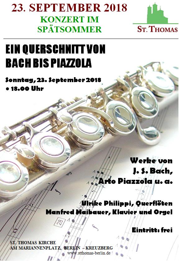 Konzert 23. September