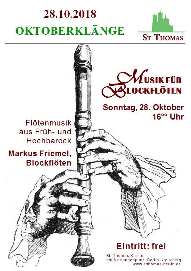 Konzert Oktober
