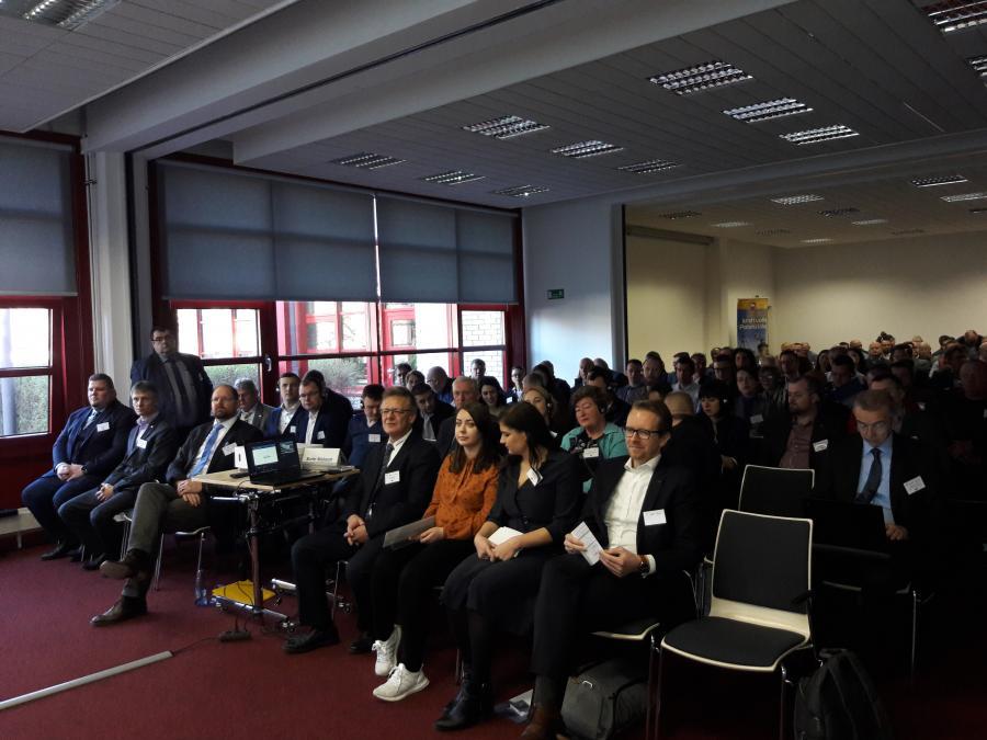 Kooperationsbörse Barleben mit 160 internationalen Teilnehmern, 02.04.2019
