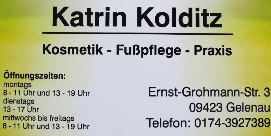 Kosmetik Fußpflege Katrin Kolditz