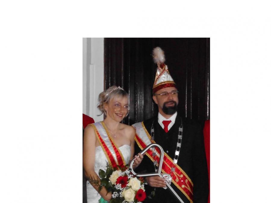 Unser Prinzenpaar 2013/14