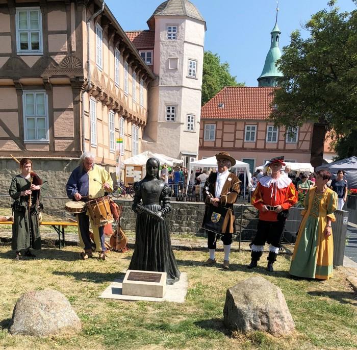 Eröffnung 4.Fallersleber Kräutermarkt 2018