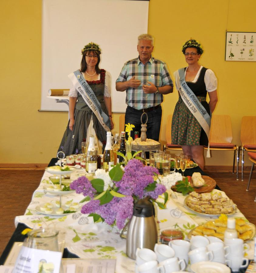 Eröffnung Kräuterschule Großbreitenbach 6.5.2018