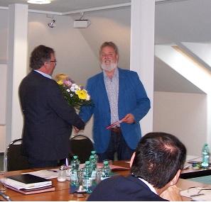 Detlef Krause verabschiedet Wolfgang Krakow