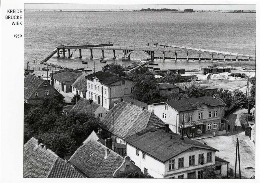 Kreide Brücke Wiek 1950