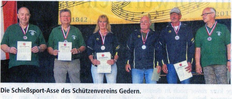 Sportlerehrung Stadt Gedern 2017