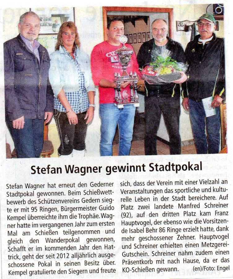 Stadtpokal 2017 Kreis-Anzeiger