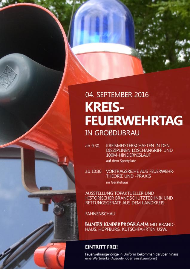Kreisfeuerwehrtag in Großdubrau
